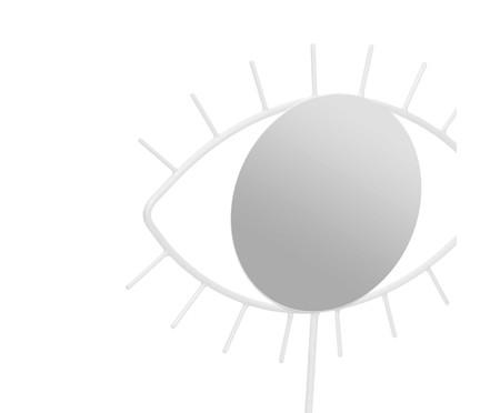 Espelho de Mesa Olho Jared - Branco | WestwingNow