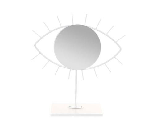 Espelho de Mesa Olho Jared - Branco, Branco   WestwingNow