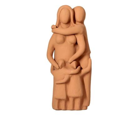 Escultura Os Pais e Duas filhas | WestwingNow