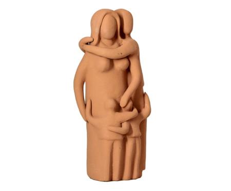 Escultura Os Pais e Dois Filhos | WestwingNow
