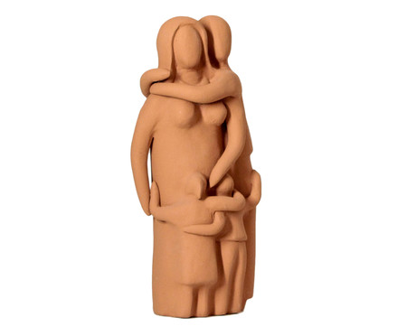 Escultura Os Pais Um Filho e Uma Filha | WestwingNow