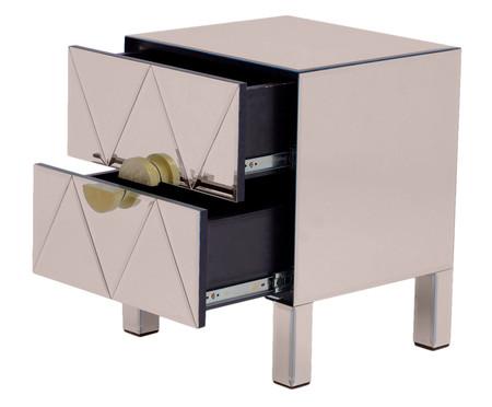 Mesa de Cabeceira Mason - Bronze | WestwingNow