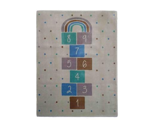 Tapete Infantil Amarelinha - Azul, colorido | WestwingNow