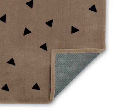 Tapete Infantil Triângulos - Bege | WestwingNow