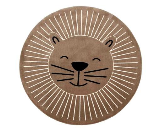 Tapete Redondo Infantil Rosto Leão, colorido | WestwingNow