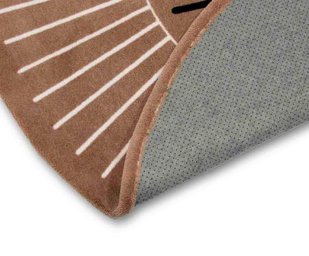 Tapete Redondo Infantil Rosto Leão | WestwingNow