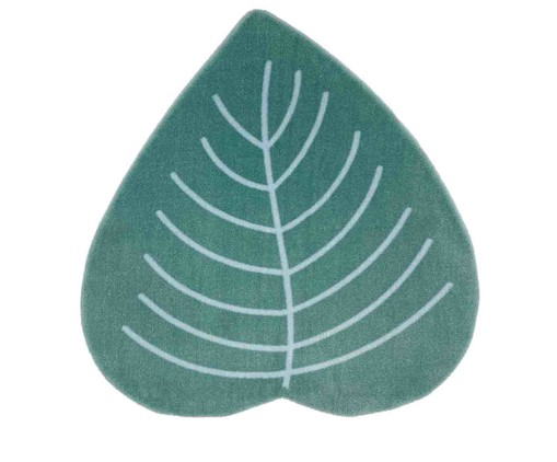Tapete Redondo Infantil Folha - Verde, colorido | WestwingNow
