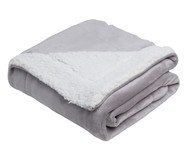 Cobertor Dupla Face Sherpa Flannel Dove - 300G/M² | WestwingNow