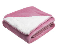 Cobertor Dupla Face Sherpa Flannel Rosa - 300G/M² | WestwingNow