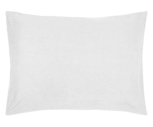 Fronha Acetinada Waly Branca - 300 Fios, Branco   WestwingNow