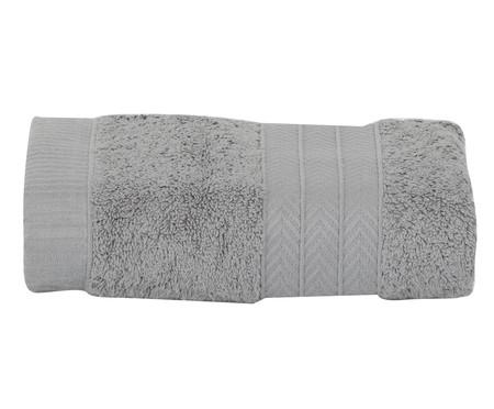 Jogo de Toalhas Naturall 550 g/m² - Cinza | WestwingNow