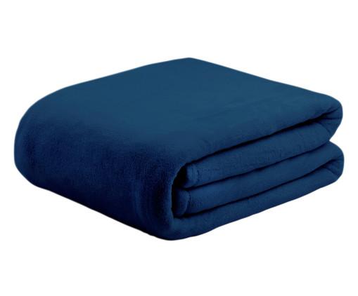 Cobertor Soft Super Azul Marinho - 300 g/m², Azul | WestwingNow