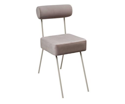 Cadeira Rolinho - Taupe, Cinza | WestwingNow