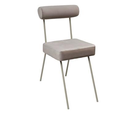 Cadeira Rolinho - Taupe | WestwingNow