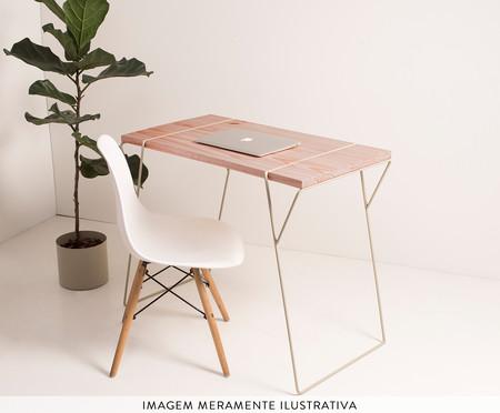 Mesa de Escritório Linhas - Rosa | WestwingNow
