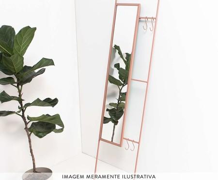 Espelho Escadinha Lizzie  - Rosa | WestwingNow