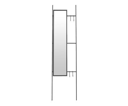 Espelho Escadinha Lizzie  - Preto | WestwingNow