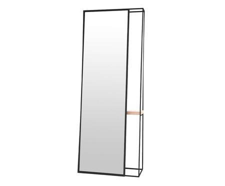 Espelho de Chão Guedes - Preto | WestwingNow