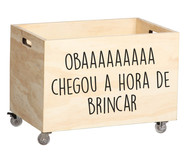 Caixa Organizadora Frases Oba | WestwingNow