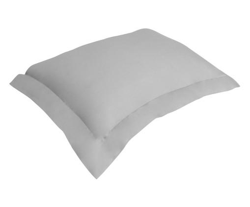 Fronha para Travesseiro King de Cetim Wally  300 Fios - Prateada, Prata / Metálico | WestwingNow