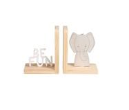 Jogo de Aparadores de Livros Elefante   WestwingNow