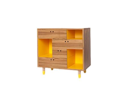 Cômoda Pé de Meia - Amarelo | WestwingNow