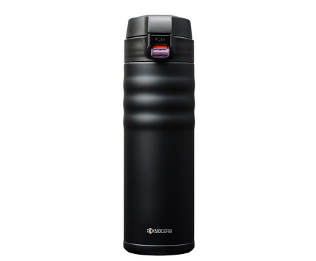 Garrafa Térmica Flip Top Preta - 500 ml | WestwingNow