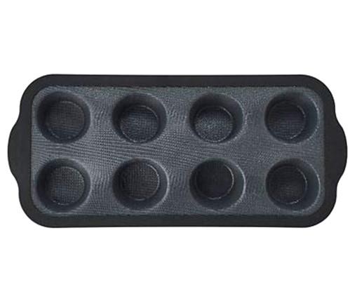 Forma para Muffins Rusé - Preta, Preto   WestwingNow