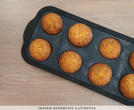 Forma para Muffins Rusé - Preta | WestwingNow