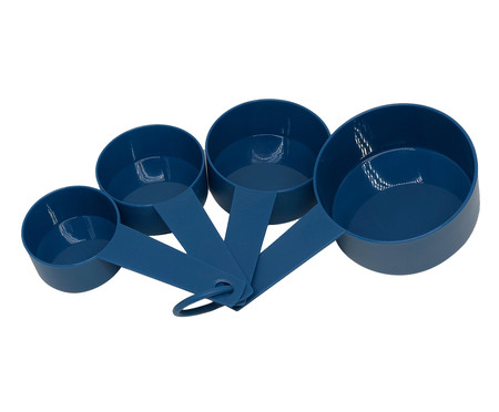 Jogo de Xícaras Medidoras Williams - Azul | WestwingNow
