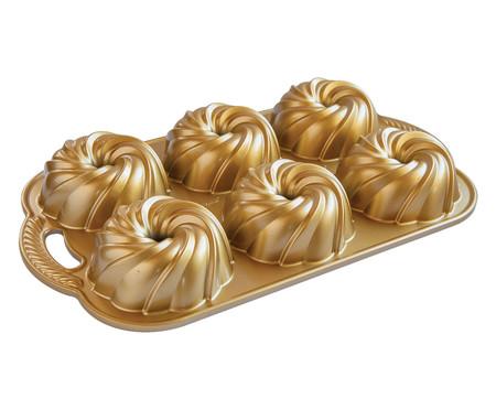 Forma Swirl Bundtlette - Dourado | WestwingNow