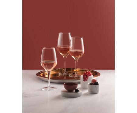 Jogo de Taças para Vinho Canaro - Transparente | WestwingNow