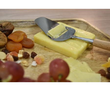Faca para Queijo em Inox Large Stan - Marrom | WestwingNow