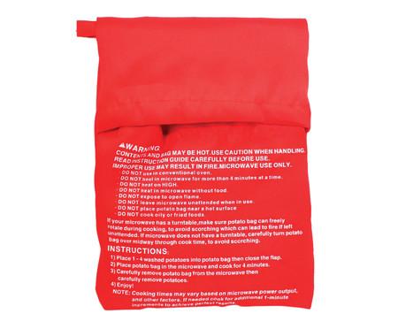 Saco para Assar Batata No Microondas Rek - Vermelho | WestwingNow