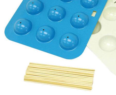 Conjunto Antiaderente para Cake Pop Uniform - Azul | WestwingNow