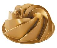 Forma para Bolo Waves - Dourada | WestwingNow