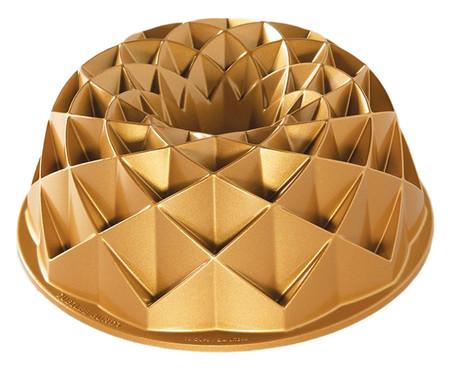 Forma para Bolo Antonia - Dourada | WestwingNow