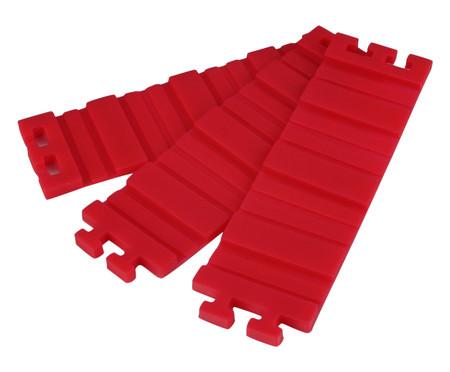 Jogo de Tiras para Assar Bolos Clarice - Vermelho | WestwingNow