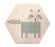 Placa Decorativa Candy Guaxinim | WestwingNow