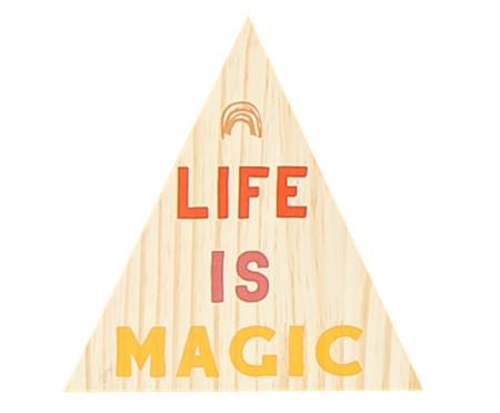 Placa Decorativa Mysticona Life | WestwingNow