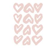 Jogo de Adesivos Corações - Rosa | WestwingNow