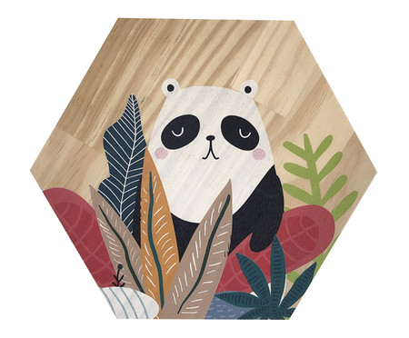Placa Decorativa Selva Panda | WestwingNow