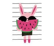 Pôster Cute Meli Stripes | WestwingNow
