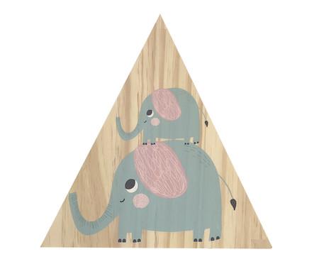 Placa Decorativa Selva Elefante | WestwingNow