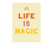 Pôster Mysticona Life Is Magic | WestwingNow