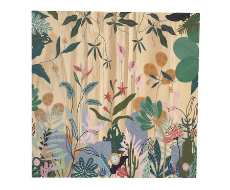 Placa Decorativa Selva Selvagem | WestwingNow