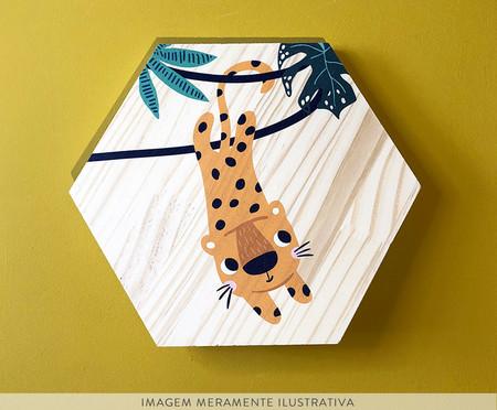 Placa Decorativa Selva Leopardo | WestwingNow