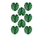 Jogo de Adesivos Jardim Costela De Adão - Verde | WestwingNow