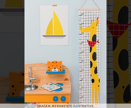Régua De Crescimento Girafa Viagem Fantástica | WestwingNow
