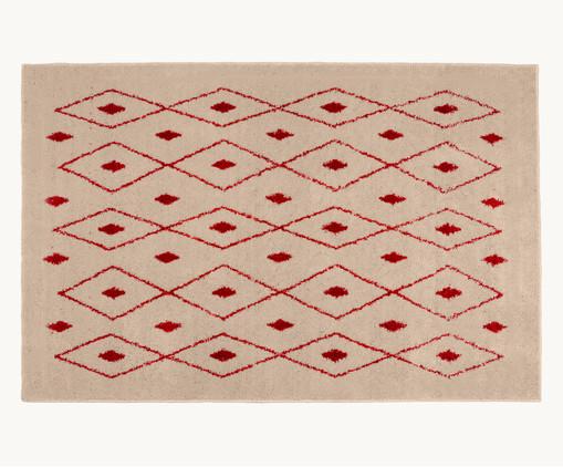 Tapete Art Kahina, Vermelho, Bege | WestwingNow